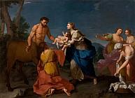 Фетида отдаёт Ахиллеса на воспитание Хирону