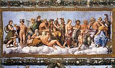 Совет богов, Психею встречают на Олимпе