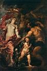 Венера просит Вулкана<br>изготовить оружие её сыну Энею