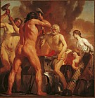 Венера и Амур в кузнице Вулкана