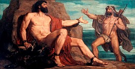 Прометей и Геркулес