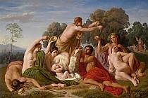 Воспитание Юпитера<br>на горе Ида на Крите